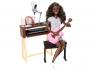 Набор Кукла Barbie Музыкант афроамериканка FCP74