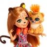 Кукла Enchantimals с питомцем Чериш Гепарди FJJ20