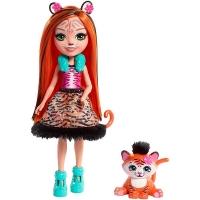 Кукла Enchantimals с питомцем Тигрица Тэнзи FRH39