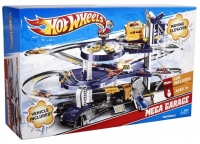Трек Hot Wheels Мега гараж Автотрек Хот Вилс V3260