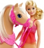 Интерактивный набор Barbie и танцующая лошадка DMC30