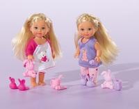 Кукла Simba Эви в пижаме с аксессуарами 10 5730515