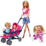 Кукла Simba Штеффи с детьми и аксессуарами 10 5736350