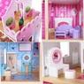 Кукольный домик Eco Toys Nowa Malinowa 4119