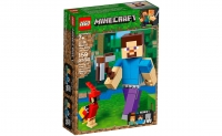 Лего 21148 Стив с попугаем Lego Minecraft