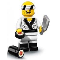 Lego Minifigures 71019 Суши-повар Минифигурка Лего Ниндзяго