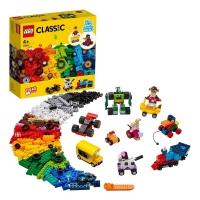 Лего Классик Кубики и колеса Lego Classic 11014