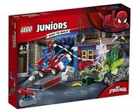 Lego Juniors 10754 Человек-паук против Скорпиона: Решающая схватка