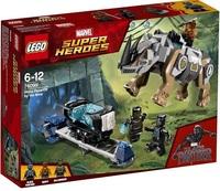 Lego 76099 Чёрная Пантера Поединок с носорогом
