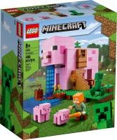 Лего Майнкрафт Дом-свинья Lego Minecraft 21170