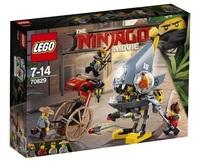 Lego Ninjago 70629 Нападение пираньи