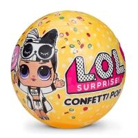ЛОЛ Кукла-сюрприз в шаре LOL Surprise Confetti POP 3 серия