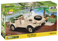 Военный авто VW Кюбельваген Коби 2402 аналог Лего