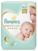 Подгузники Pampers Premium Care 2 Mini (4-8 кг) 66 шт