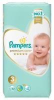 Подгузники Pampers Premium Care 3 Midi (6-10 кг) 52 шт