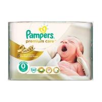 Подгузники Pampers Premium Care 0 Newborn 30 шт