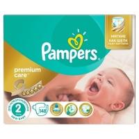 Подгузники Pampers Premium Care Mini 2 (3-6 кг), 148 шт