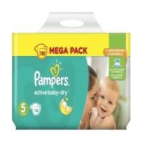 Подгузники Pampers Active Baby-Dry Junior 5 (11-18 кг), 110 шт