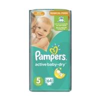 Подгузники Pampers Active Baby-Dry Junior 5 (11-18 кг), 64 шт