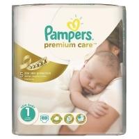 Подгузники Pampers Premium Care Newborn 1 (2-5 кг), 88 шт