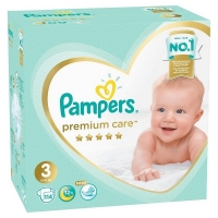 Подгузники Pampers Premium Care 3 Midi (6-10 кг), 114 шт