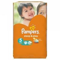 Pampers подгузники Sleep&Play 5 (11-18 кг) 11 шт