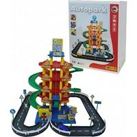 Паркинг 5-уровневый Autopark с дорогой и автомобилями Полесье арт 38104