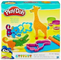 Play-Doh Набор пластилина Веселое сафари B1168