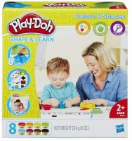 Play-Doh Набор пластилина Цвета и формы B3404