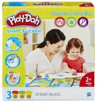 Play-Doh Набор пластилина Цифры и числа B3406