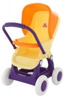 Коляска для кукол Полесье прогулочная 4-х колёсная арт.48134