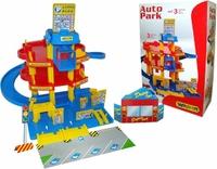 Паркинг 3-уровневый с автомобилями (в коробке) Полесье арт. 37893