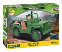 Военный Джип Форд конструктор Коби 2400 аналог Лего