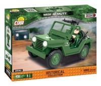 Военный Джип конструктор Коби 2230 аналог Лего