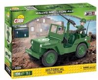 Военный Джип конструктор Коби 2399 аналог Лего